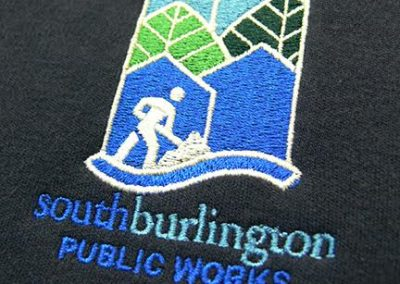 Town of South Burlington Embroidery