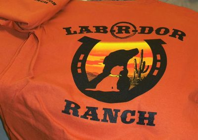 Labrdor Ranch Silk Screen Shirt